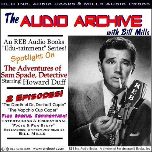 A Sam Spade Audio Double-Feature Starring Howard Duff, Volume 1  audiobook cover art