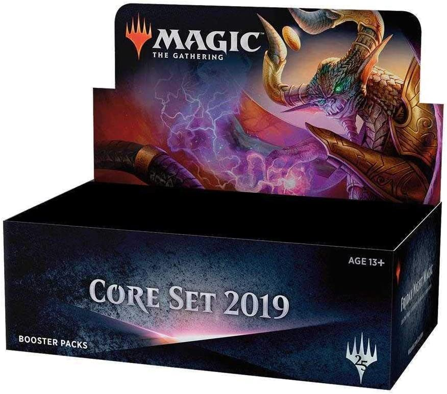 Wizards of 正規店 the Coast Applicable. Accessories not MTG-M19-BD-IT 送料込