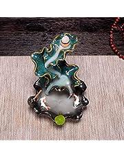 Keramische Kleurrijke Vis Backflow Wierook Brander, Woondecoratie Wierook Houder Wierook Wierook Wierook Wierookkegels