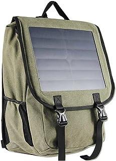 Superbag 618energía Solar mochila, 38L Material Lona, 10vatios Batería Solar cargador mochila para iphone, ipad, Samsung, cámaras Gopro etc. 5V dispositivo