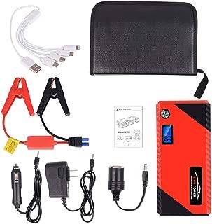 Chargeur De Batterie De Voiture, Batterie De Rappel 20000Mah 12V Avec Double Sortie De Charge USB, Lampe De Poche LED Et Boussole Pour Véhicules 12V
