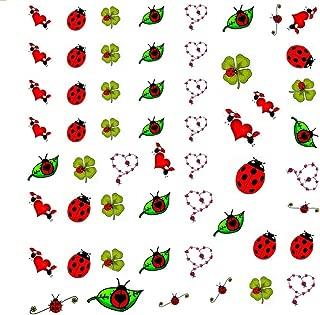 Ladybug Collection (Ladybug Ladybird Nail Art Decals C2)