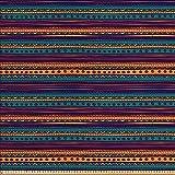 ABAKUHAUS A Rayas Tela por Metro, Arte Retro Azteca Tribal, Decorativa para Tapicería y Textiles...