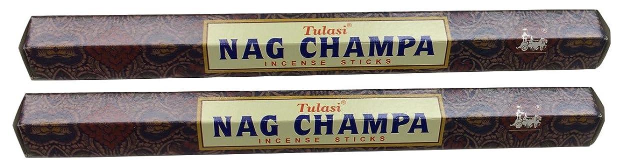 木断線趣味TULASI サラチ STICKS お香 40本入り NAG CHAMPA ナグチャンパ 025001-2