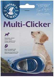 Company of Animals Clix Multi-Clicker Training Tool for Dogs, Blue