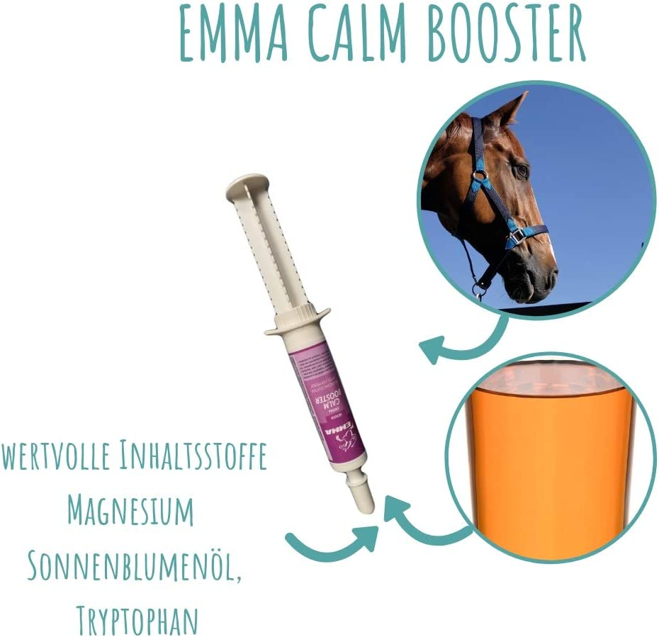 Magnesium Paste für Pferde I CALM Booster I Anti Stress zur ...