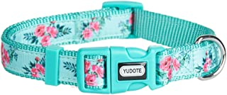 YUDOTE Dog New Pattern Floral Collars