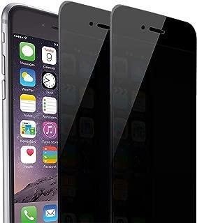 iPhone 8 Plus/iPhone 7 Plus Privacy Screen Protector, Asstar [Full Coverage] Anti-Spy Anti-Glare Tempered Glass Anti-Scratch Anti-Fingerprint Bubble Free Apple iPhone 8/7 Plus (2 Pack)