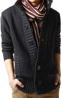 Clearance On Sale Litetao Mens Warm Sweater Button Nail Wind Neck Herringbone Jacket Knitwear Outwear Blouse