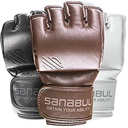 MMA gloves with cool design