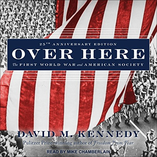 Over Here audiobook cover art
