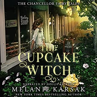 The Cupcake Witch     The Chancellor Fairy Tales, Book 2              Written by:                                                                                                                                 Melanie Karsak                               Narrated by:                                                                                                                                 Hollie Jackson                      Length: 2 hrs and 36 mins     Not rated yet     Overall 0.0