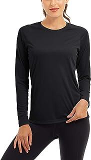 Sponsored Ad - TACVASEN Women's Sun Protection Shirt Long Sleeve Running Sport Workout Rash Guards Tops