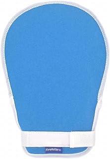 fiveAstar 介護ミトン ソフト メッシュ 手袋 介護 用品 ミトン グローブ 認知症 自傷 いたずら 防止 1枚 [取り扱い説明書付き] A318 (紐パット無し1枚)