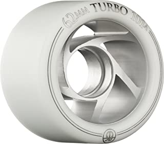 RollerBones Turbo 101A Speed/Derby Wheels with an Aluminum Hub (Set of 8)