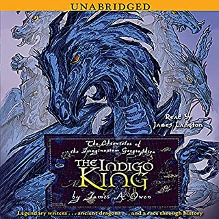 The Indigo King audiobook cover art