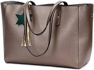 Shoulder Bag Hobos & Shoulder Bags Totes Bag Female Handbag Fashion Tassel Handbag Shoulder Bag Handbag Clutch (Color : Bronze)