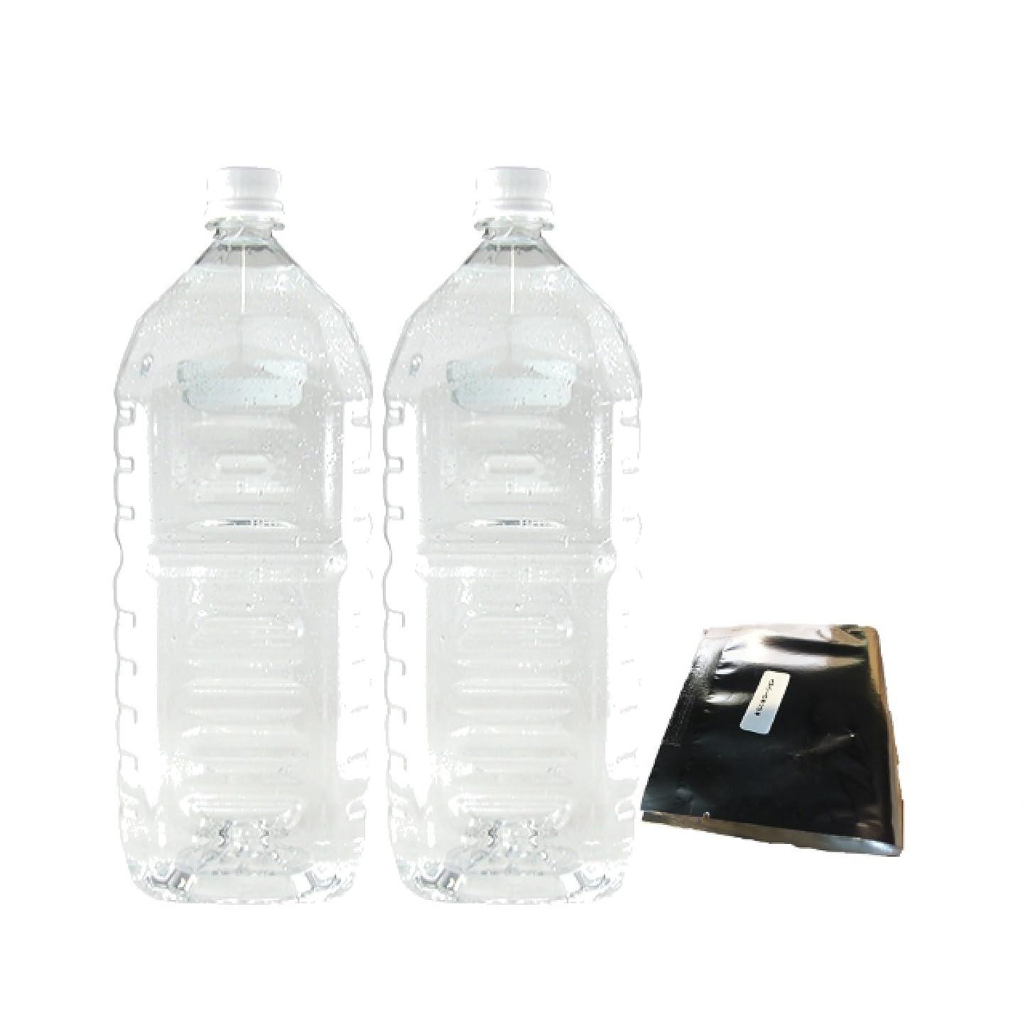 やむを得ない一スコアお徳用クリアローション 2Lペットボトル ハードタイプ(5倍濃縮原液)【2本セット+★ミニ★ローション付】