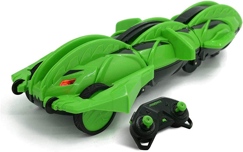 promociones de equipo YYD Coche de Control Remoto Remoto Remoto con Truco de deformación - deformable, verde, 2.4 GHz, 13.8   barato y de alta calidad