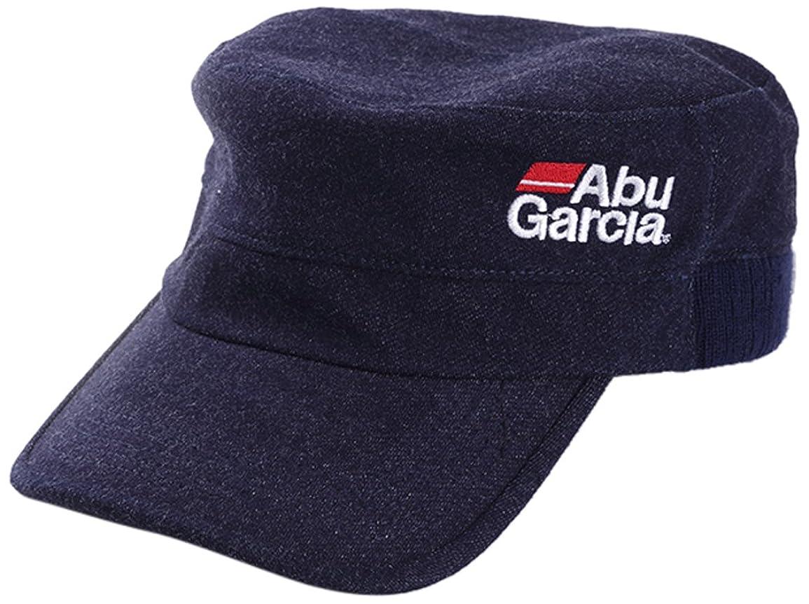 地平線ジャベスウィルソン浸したアブガルシア(Abu Garcia) キャップ  スウェットワークキャップ ネイビー 帽子 釣り