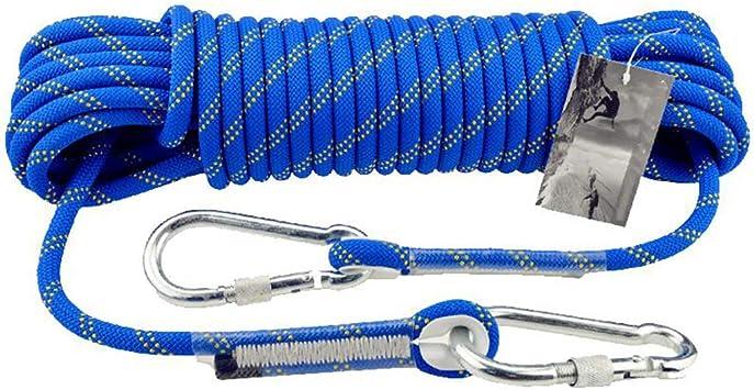 HUYYA Cuerda de Escalada estática, 105mm Cuerda de Seguridad ...