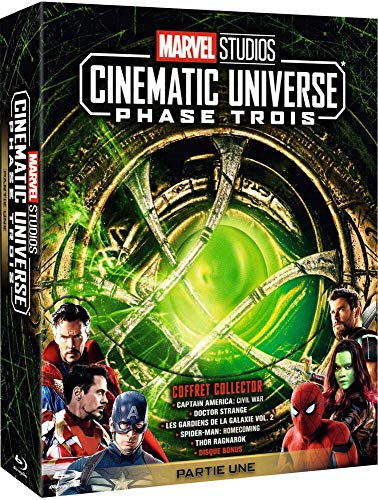 Marvel Studios Cinematic Universe : Phase 3.1-5 Films [Blu-Ray]