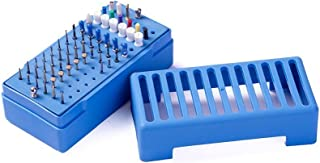 Easyinsmile® 78 Holes Endo Sterilization Organizer Holder Container Diamond Bur, File and Prophy Cup