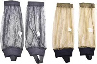 Generic 2 Pairs Mosquito Pants Sleeve Net Bug Calf Pants Mesh Bug Socks Bite Proof Leg Covers for Outdoor Protection from ...