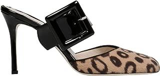FRANCESCA BELLAVITA Luxury Fashion Womens SCINTILLAMULECAVALLINO Brown Pumps   Fall Winter 19