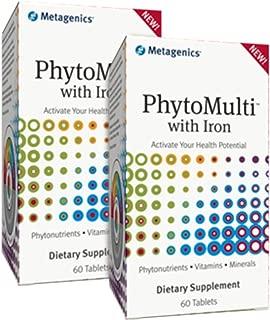 Metagenics PhytoMulti with Iron 60 Tabs - TwinPak