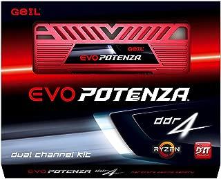 GeIL EVO Potenza AMD 8GB (2 x 4GB) 288-Pin DDR4 SDRAM DDR4 2133 (PC4 17000) Desktop Memory Model GAPR48GB2133C15DC