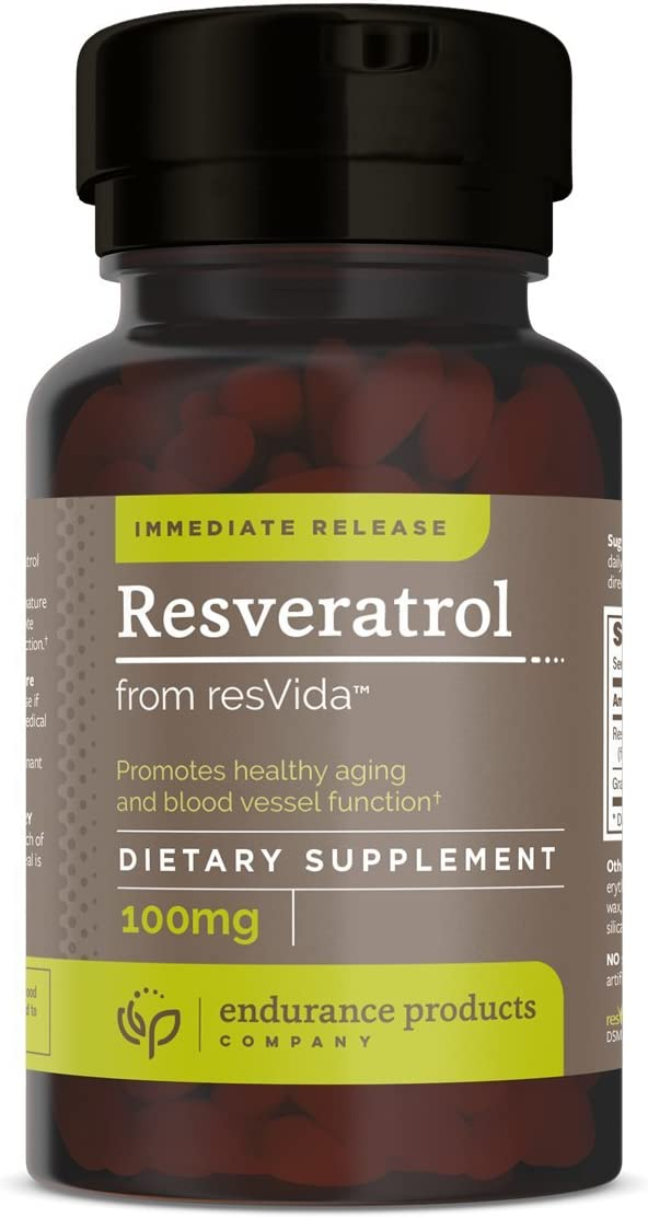 Resveratrol Supplement – Grape Skin - 100mg Extract OFFicial mail order Brand Cheap Sale Venue Trans-R