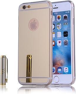 d0e1bd21348 FindaGift iPhone 6 Plus / iPhone 6s Plus Funda Case, Ultra Delgado Fit  Shockproof TPU