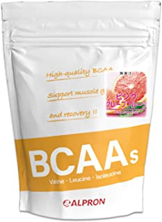 アルプロン BCAA + シトルリン + グルタミン 1kg ピンクグレープフルーツ風味(アミノ酸 ALPRON 粉末ドリンク 国内生産)