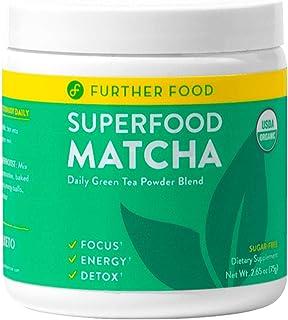 Matcha Green Tea Powder USDA Organic Japanese Matcha Powder, Natural Energy + Focus + Boost Immune System, Antioxidant Pla...
