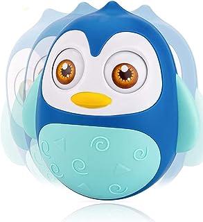 ألعاب الأطفال من كاستويف من 6 إلى 12 شهرًا، ألعاب وقت البطن، لعبة البطريق المتذبذبة للفتيات الرضع مع صوت ترقيع مهدئ، لعبة ...