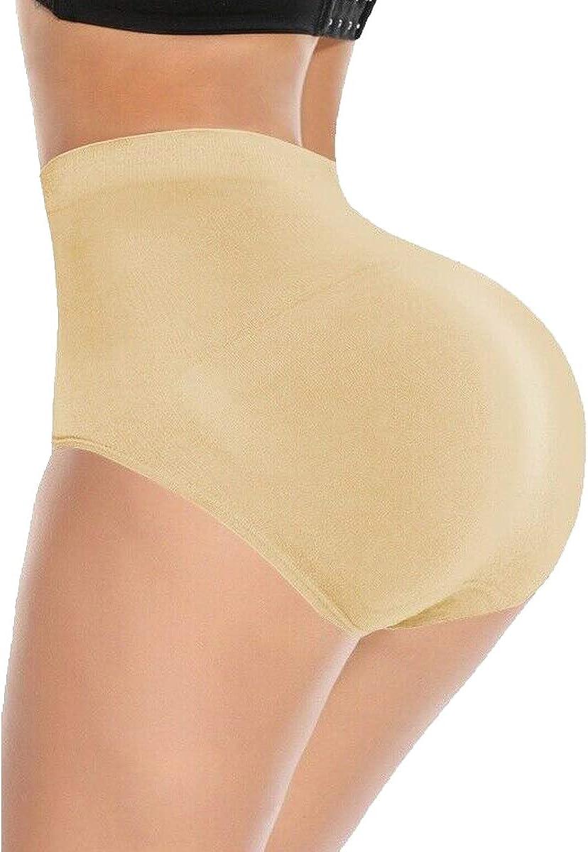 FUTATA Women Butt Lifter Body Shaper Padded Shapewear Hip Enhancer Panties Boy Shorts
