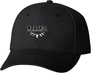 Adult Wakanda Embroidered Dad Hat Structured Cap