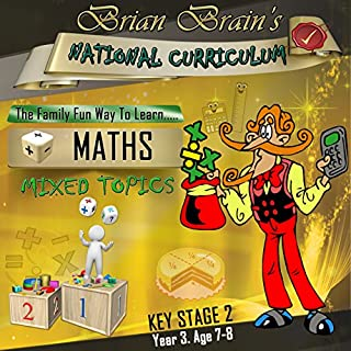 Brian Brain's National Curriculum KS2 Y3 Maths Mixed Topics cover art