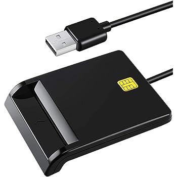 『2020最新作』接触型ICカードリーダライター 国税電子申告・納税システム e-Tax、地方税電子手続き等に対応 USB接続 ICチップのついた住民基本台帳カード対応 マイナンバーカード、住基カードに対応
