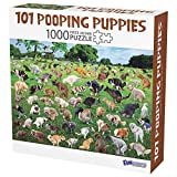 1000 Piece Puzzle, 101 Pooping Puppies, Dogs Pooping Puzzle