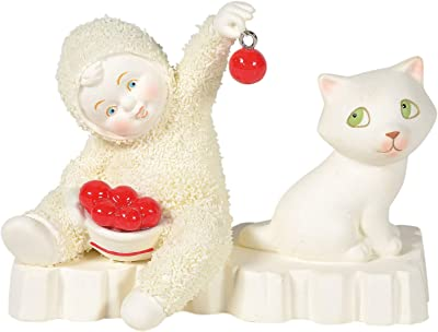 Department 56 Snowbabies Classics are You Kitten Me Figurine, 3.375 Inch, Multicolor