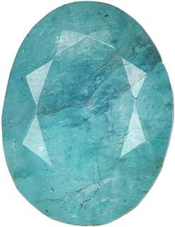 Gema Suelta de 7 Quilates de Esmeralda Natural, Forma Ovalada Gema de Piedra de Nacimiento de Esmeralda Verde de Mayo