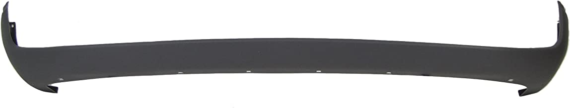 FRONT BUMPER COVER LOWER TEXTURED DARK GREY CH1000232 FOR 94-01 DODGE PICKUP RAM 1500 / 94-02 PICKUP RAM 2500 3500
