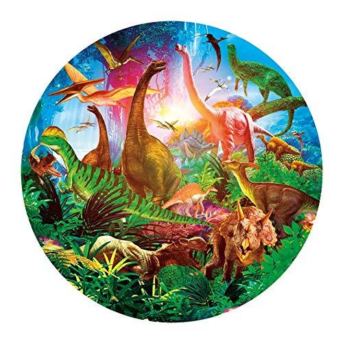 NOBRAND Adult Jigsaw Puzzles Dinosaur World Puzzle 1000 Pieces Paper Puzzle Cartoon Jigsaw Puzzles For Children Educational Toys
