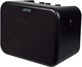 JOYO MA-10E 10Watt Dual Channel Electric Guitar Amplifier, Portable Mini Headphone Electric Amp with Hidden Shoulder Strap Buckles