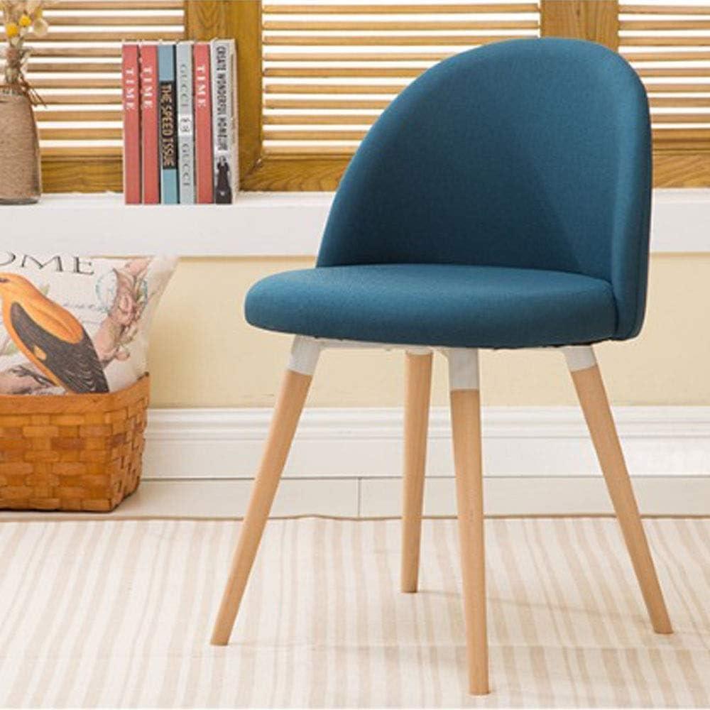 Chaise nordique moderne de loisirs dinant la chaise Simple chaise de bureau à la maison de mode (Color : White) Marron