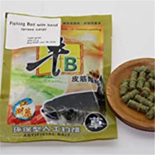 HEALTHLL Pellet Bait with Band 1 Bag Crucian Carp Grass Carp Fishing Bait Fishing Feeder Lure Formula Insect Particle Easily Hook Up Grass Carp