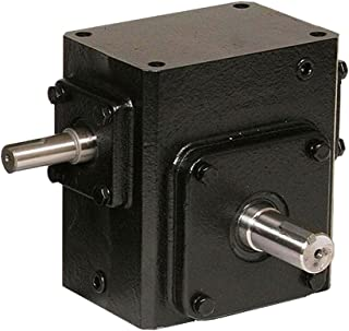 2.62 WCD Center 2.62 WCD Center Double End Output 58 Output RPM 30:1 Ratio 145TC Frame Worldwide Electric HdRF262-30//1-DE-145TC Worm Gear Reducers