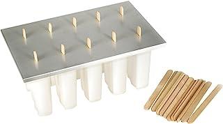 Fox Run Frozen Popsicle Maker Ice Pop Mold, with 24 Sticks, BPA-Free